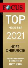 Focus Top Mediziner 2021 Hüftchirurgie